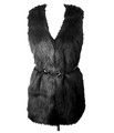 v4N black long hair fur vest.jpeg