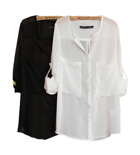ts14 silky white shirt w oversized pocket - miranda kerr.jpeg