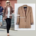 Brown cotton blazer w leopard cuffs on kirsten dunst copy.jpeg