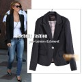 Zara one button fit blazer - audrina.jpeg