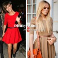 dp6 Red flared mini dress on Maria Sharapova & Francesca Sandford2 copy.jpeg