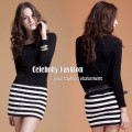 dc15 black top+striped skirt dress copy.jpeg
