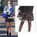 sk7 Blue floral A-line skirt in style of Rachel Bilson copy.jpeg