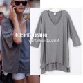 Slouchy oversized loose fit top in grey copy.jpeg