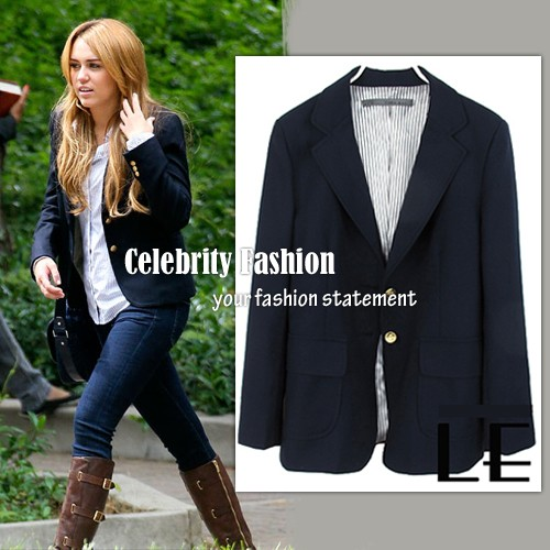 bn8 nicole richie navy blazer w gold button on Miley Cyrus.jpeg