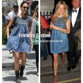 Isabel Marant Leal Denim Dress in style of jessica alba23.jpeg