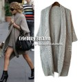 Ashley Olsen chunky open cardigan in grey celeb style copy.jpeg