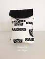 raiders white wristlet.jpeg