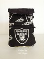 raiders black wristlet.jpeg