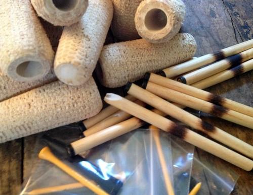 Mac ARTHUR 5-STAR DIY Cobfoolery Kit Missouri Meerschaum Corn Cob Pipe from Aristocob