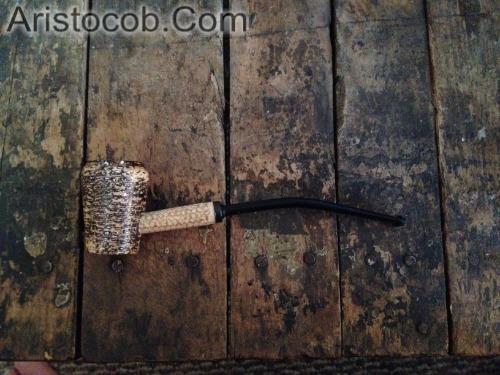 The Elf Cobbit Hobbit Missouri Meerschaum Corn Cob Pipe from Aristocob