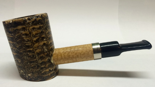 Dagner Poker Missouri Meerschaum Corn Cob Pipe from Aristocob