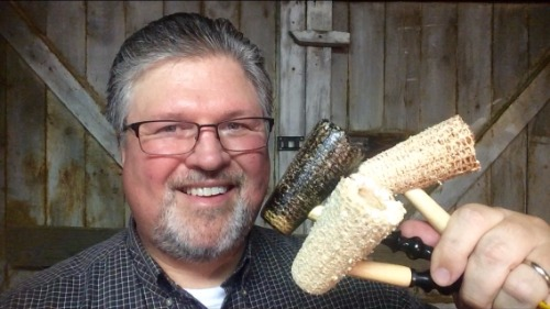 Neked Natural Freehand Missouri Meerschaum Corn Cob Pipe from Aristocob