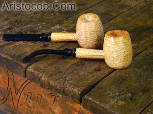 Aristocob Missouri Meerschaum Corn Cob Pipe Tobacco Smoking Diplomat