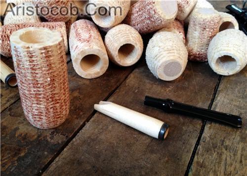 Cobfoolery DIY corn cob pipe Kit Missouri Meerschaum Corn Cob Pipe from Aristocob