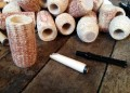 Cobfoolery DIY corn cob pipe Kit Missouri Meerschaum Corn Cob Pipe from Aristocob
