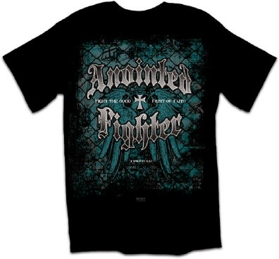 Kerusso Christian Anointed Fighter Adult T-Shirt - Small, Medium, Large, XL, 2X, 3X
