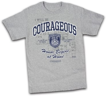 Kerusso Christian Courageous Atheltic Adult T-Shirt - Small, Medium, Large, XL, 2X, 3X, 4X