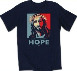 Kerusso Christian Hope Adult T-Shirt - Small, Medium, Large, XL, 2X, 3X