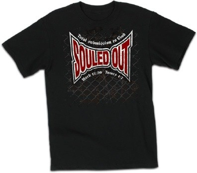 Kerusso Christian Souled Out Adult T-Shirt - Small, Medium, Large, XL, 2X, 3X, 4X