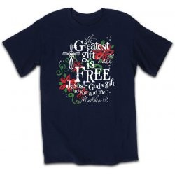 Kerusso Christian Greatest Gift T-Shirts  Small, Medium, Large, XL, 2X