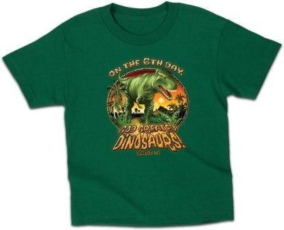 Kerusso Christian Dinosaurs Toddler T-Shirt - 3T, 4T, 5T