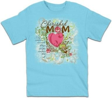 Kerusso Christian Mom Cherished - Small, Medium, Large, XL, 2X