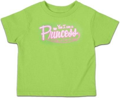 Kerusso Christian Yes, I am a Princess Lime - 3T, 4T, 5T