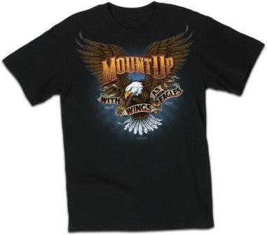 Kerusso Christian Mount Up 2 T-Shirts - Small, Medium, Large, XL, 2X, 3X, 4X - Front