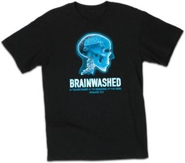 Kerusso Christian Brainwashed 2 T-Shirts  Small, Medium, Large, XL, 2X