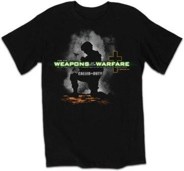 Kerusso Christian Adult T-Shirts Weapon of our Warfare - SM, MD, LG, XL, 2XL, 3X, 4X