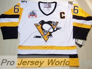 Pittsburgh Penguins Jersey  66 MARIO LEMIEUX CCM 1992 Jersey White - NHL  Jersey b2792db5b8d