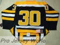 Gerry Cheevers 1971 Jersey Black - NHL Jersey