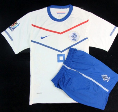 Netherlands 10 Wesley Sneijder Away Jersey + Shorts