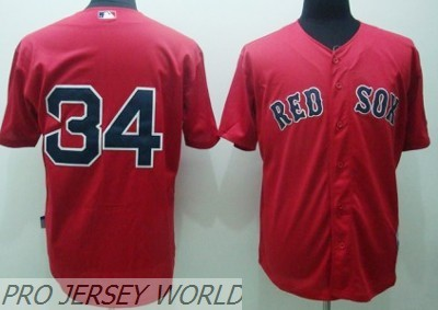 MLB Jerseys Boston Red Sox 34 ORTIZ Red.jpg