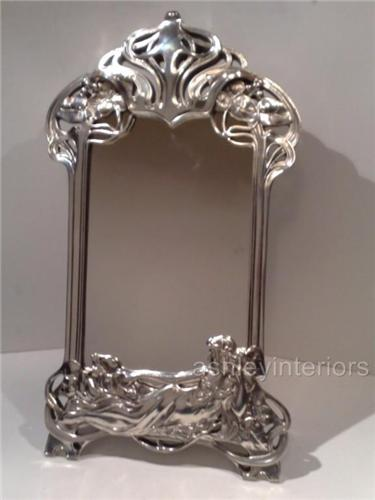 Art Nouveau Lady Dressing Mirror