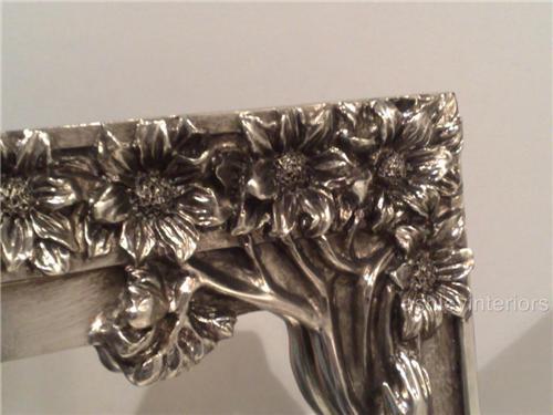 Art Nouveau Silver Lady Dressing mirror