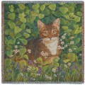 In Lemon Balm Cat Throw Blanket.jpg