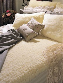 SnugFleece Wool Mattress Pads