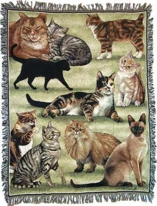 Throws for Cat Lovers