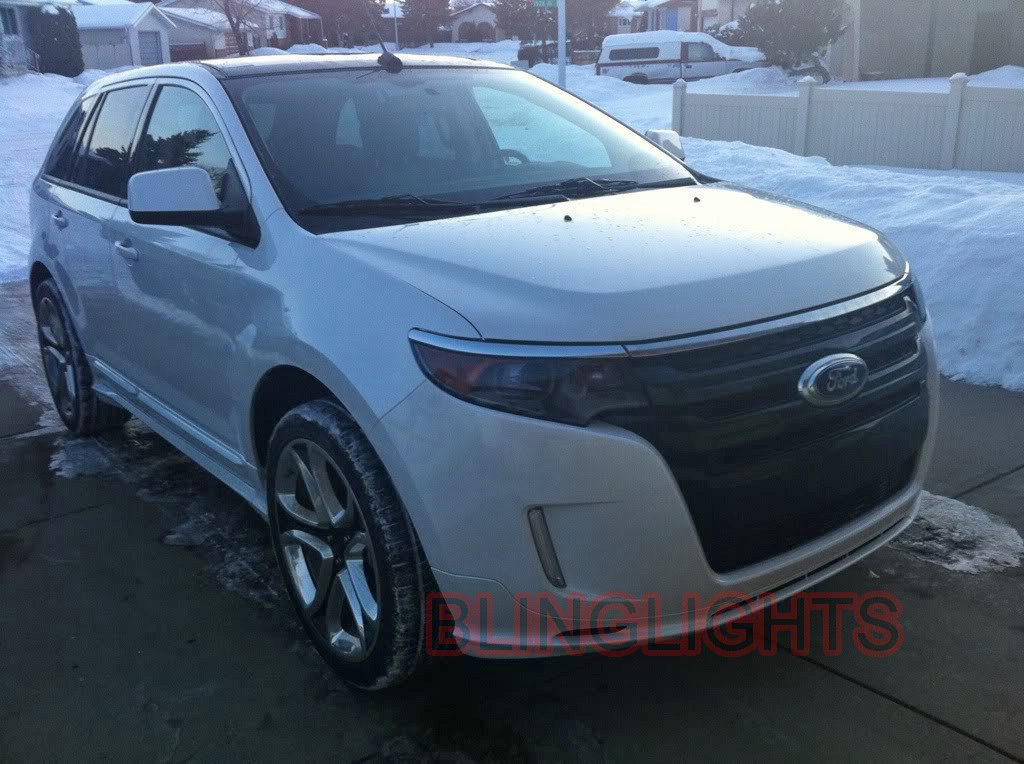 ford edge tinted head light kit smoked lamp film overlays protection film b. Cars Review. Best American Auto & Cars Review