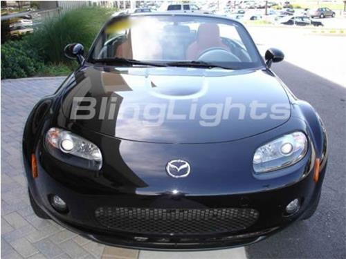 2006 2007 2008 mazda mx5 xenon fog l light kit miata nc drivinglights foglights blinglights