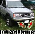 1998 1999 2000 Nissan Frontier Xenon Fog Lamp Light Kit Foglamps Drivinglights