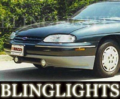 1997 1998 1999 Chevy Lumina Razzi Body Kit Angel Eyes Fog Lamps Halos Driving Lights Chevrolet