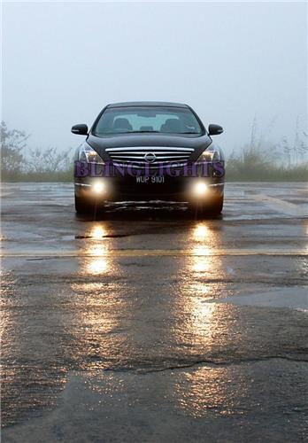 2009-2014 Nissan Teana J32 Halo Fog Lamp Driving Light Kit Angel Eyes