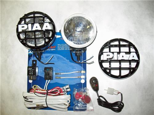 "PIAA 510 Xtra Super White 4"" Round Driving Light Kit"