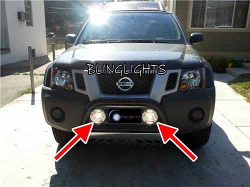 Off Road Auxiliary Driving Lights Kit for Nissan Frontier Lamp Bar