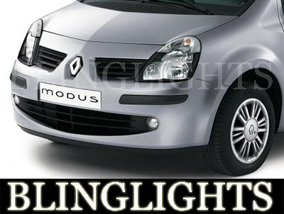 2004-2009 RENAULT MODUS FOG LIGHTS authentique expression 2005 2006 2007 2008