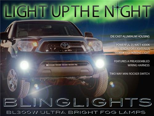 2012 2013 2014 Toyota Tacoma Xenon LED Fog Lights Driving Lights Fog Lights Driving Lights Kit