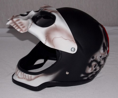 M And P Shield Custom Ghost Rider Motorcycle...